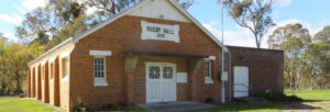 Rugby Hall, in the Hilltops Region of NSW